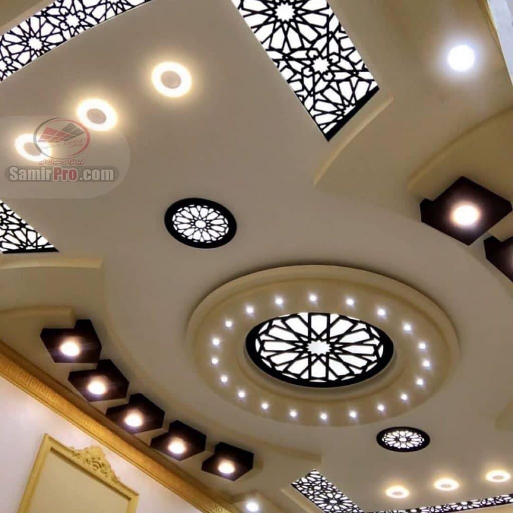 ترکیب کناف سقف و معرق