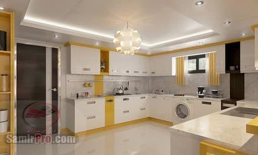 طرح کناف سقف برای آشپزخانه