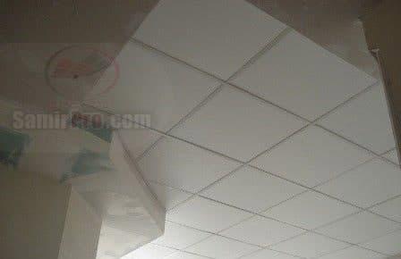 اجرای سقف گچی 60در60