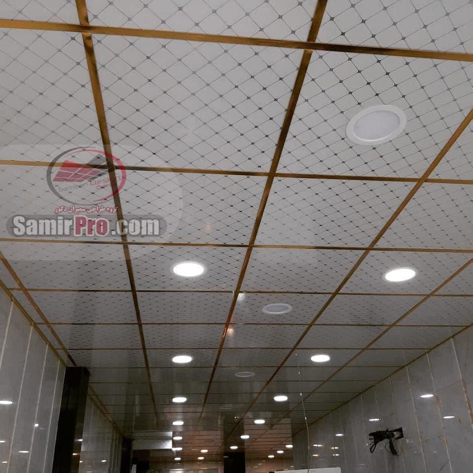 اجرای سقف کاذب pvc