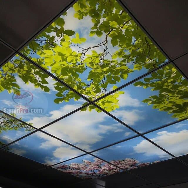 طرح سقف آسمان مجازی