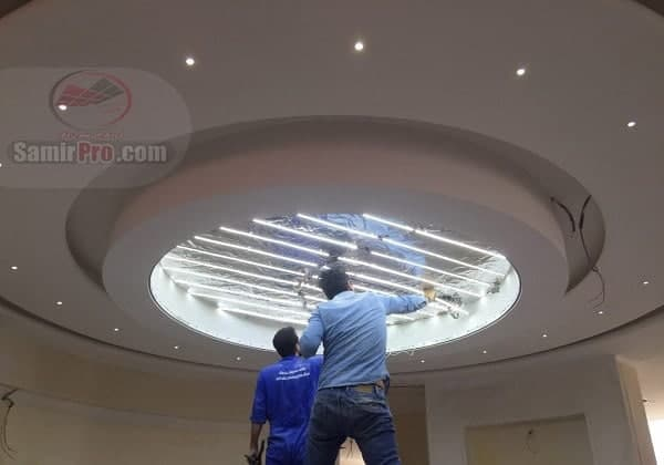 نصب کناف سقف