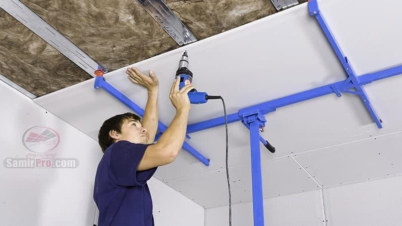 نصب و اجرای سقف کاذب
