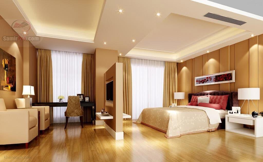 اتاق خواب سقف کاذب