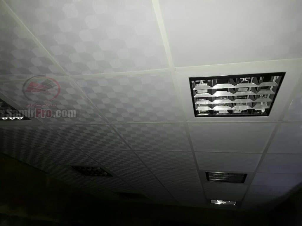 اجرای سقف پی وی سی