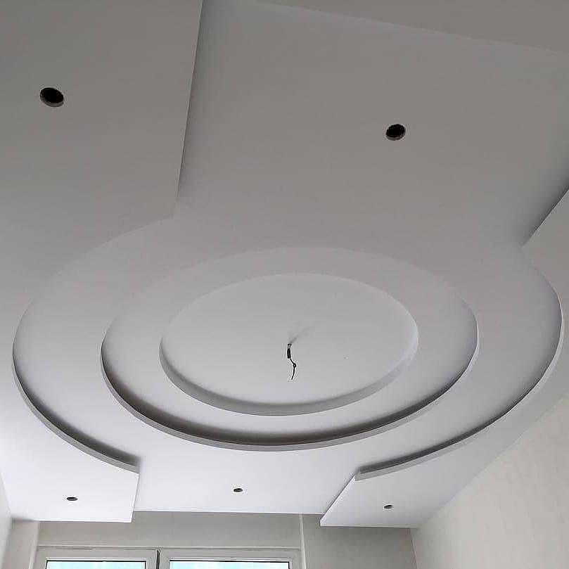 سقف کناف گرد پذیرایی