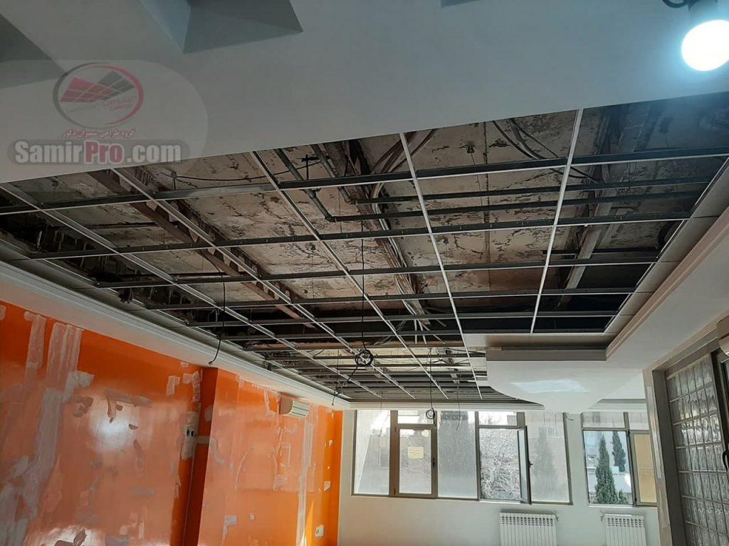 نصاب سقف کاذب گچی