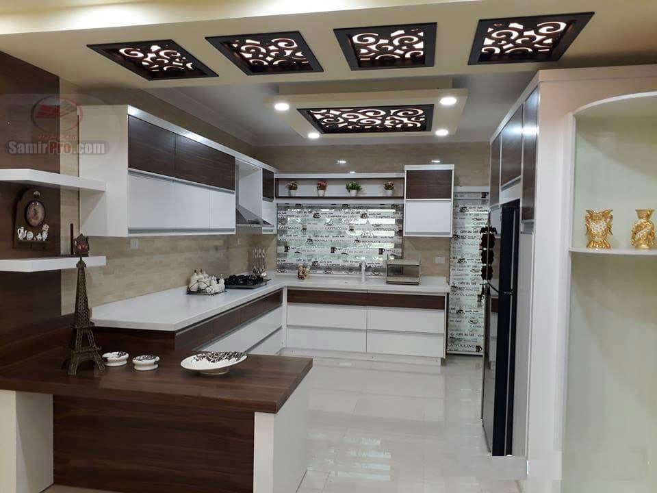 سقف کاذب معرق آشپزخانه