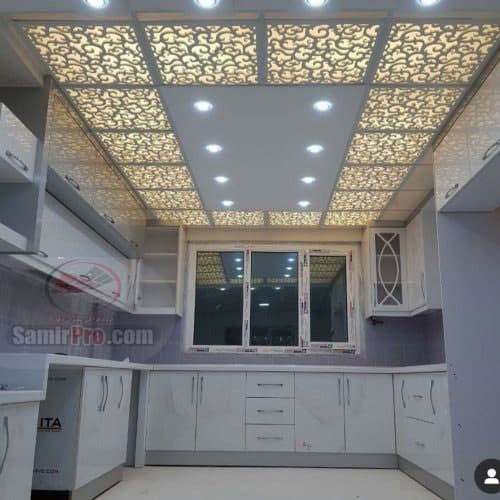 تایل سقف کاذب آشپزخانه