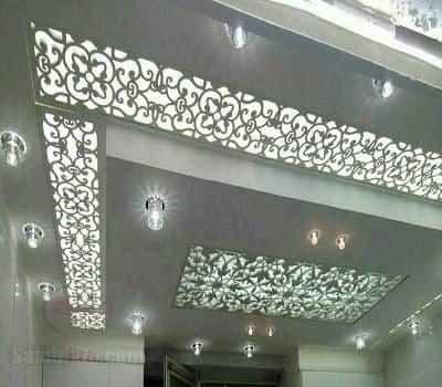 سقف معرق آشپزخانه