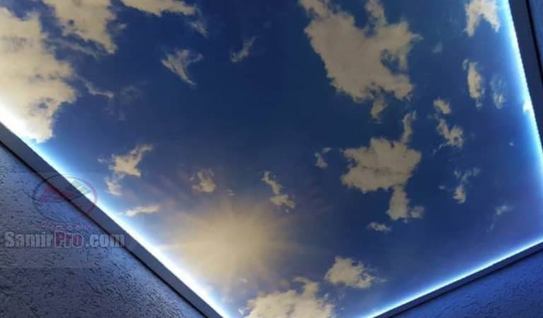 نصب سقف مجازی