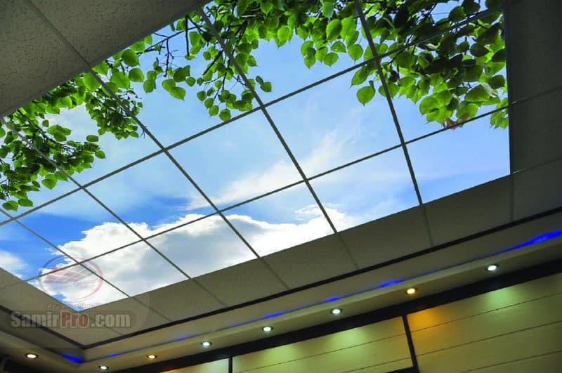 اجرای سقف مجازی